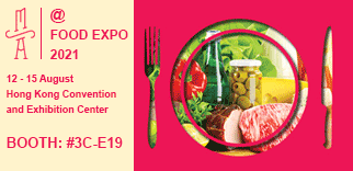FOOD EXPO 2021, HK Exhibition Center, 12-15 August 2021